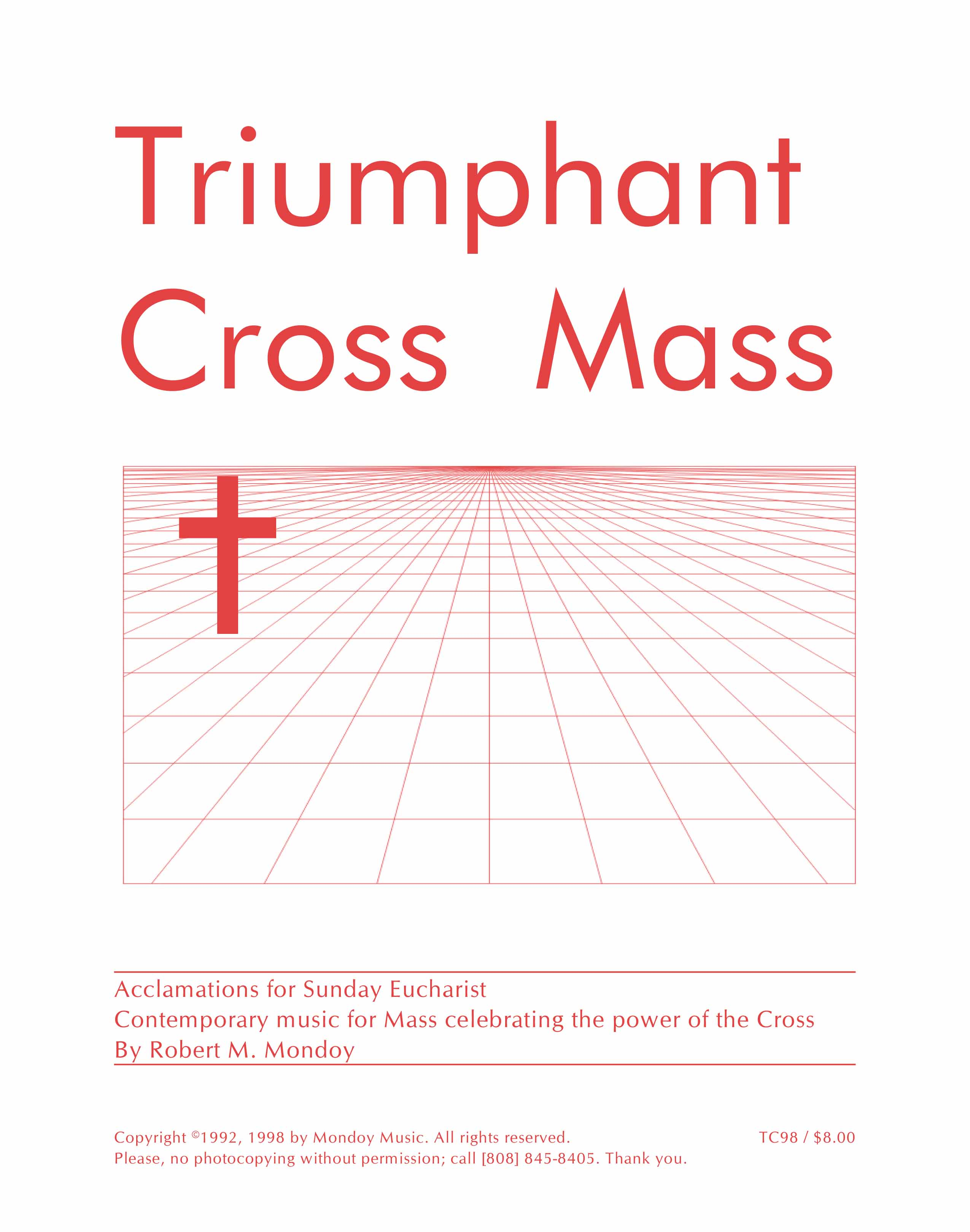 Acclamations masses mondoy music publications triumphant cross fandeluxe Image collections